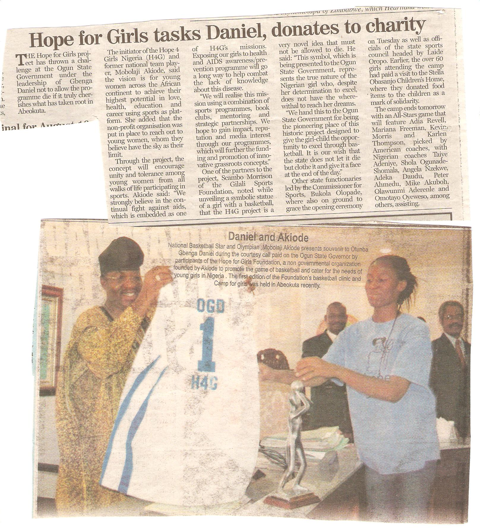 H4G Ogun Article